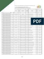 Lista de candidatos habilitados a las gobernaciones