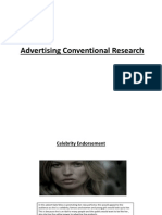 Advertising Conventional Research