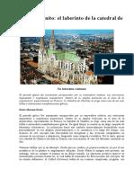 El Ciclo Infinito El Laberinto de La Catedral de Chartres