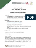 SESION DE TUTORIA - INICIAL - PRIMARIA- OFICIOS Y PROFESIONES