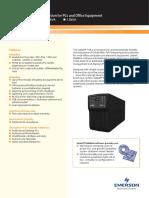 Liebert_PSA_Data_Sheet