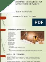 Bodas Del Cordero-celebraciòn de La Palabra (1)