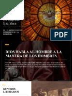 III. EL ESPIRITU SANTO INTERPRETE DE LA SAGRADA ESCRITURA