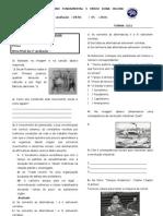 1ª avaliação Revolução industrial e doutrinas sociais 3º ANO