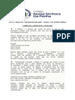 AULA 5 - REDAÇÃO - PROFESSOR EDUARDO - TURMA 1.301