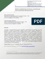 ). Inovação e desempenho na administração judicial