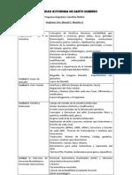 PROGRAMA GENETICA MEDICA UASD (Teoria)