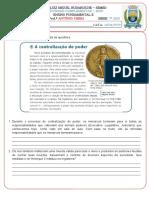 2ª ATIVIDADE COMPLEMENTAR DE HISTÓRIA - 7º ANO - ANTÔNIO