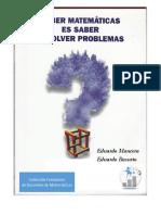 Libro - Saber Matemáticas es Saber Resolver Problemas