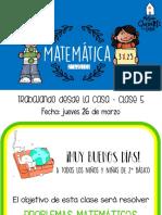 matematica sumas y restas