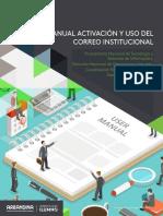 Manual Activación y Uso Del Correo Institucional