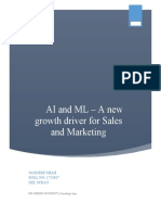 M-12-SS-AInML in Sales- Report