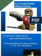 GNU Linux Fundamentals Presentation