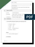 lesson plan on conditional sentences
