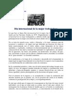 PCP - Dia Internacional de La Mujer Trabajadora