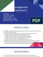 Service Management CIA 3 - Component II (1)