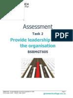 Assessment Task 2 - BSBMGT605 (1)