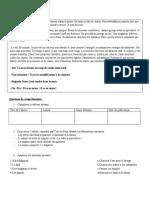 Evaluation Chapitre 6