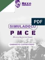Gab Comentado - SIMULADO 07 - PMCE - Nexo Concursos