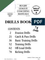 rugby league drills 2 football codes ball games rh scribd com The Healing Code Manual Rugby League Wayne Bennett