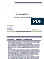 Union Budget_FY12