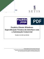 1 - PGCliWin - Interface com a Automação Comercial - v2.12