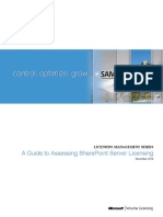 Assessing SharePoint Server Licensing[1]