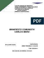 MANIFIESTO COMUNISTA 1 AÑO SECCION 5 GREIDY REQUENA