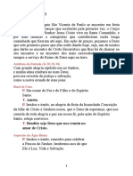 Rito da Primeira Comunhão na Solenidade da Imaciulada Conceição de Maria 2019