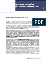 MODULO 1- Visión positiva del conflicto