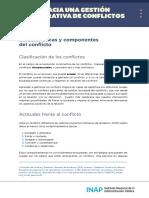 Características y componentes- Resolucion de conflictos