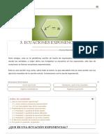 ✔️ Ecuaciones exponenciales con ejercicios resueltos - XplorerTek