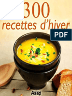 300 recettes d'hiver (French Ed - collective, Oeuvre