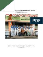 1. Cover Panduan Pengelolaan Rekam Medis