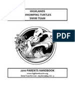 Highlands Whomping Turtles Swim Team 2010 Parents Handbook
