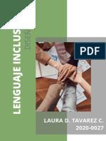 Lenguaje inclusivo. LT
