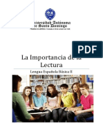 La Importancia de la Lectura (Autoguardado)
