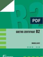 german test level B2 Goethe Zertifikat