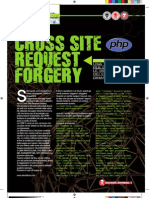 Cross Site Forgery