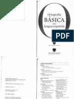 """""""Ortografía básica de la lengua española"""" - Real Academia Española"""