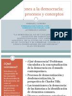 Transiciones a La Democracia Historia Pr