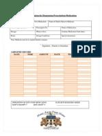 authorizationprescriptionmedication