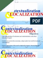 Contextualization and Localization