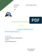 Expose de Mathematiques
