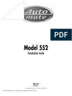 AutoMate 552 Install Manual