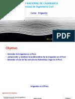 Clase de Irrigacion - Model