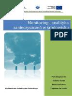 Monitoring i analityka zanieczyszczeń w środowisku