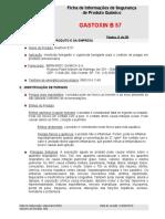 Gastoxin b57 - Fispq - Rev 05