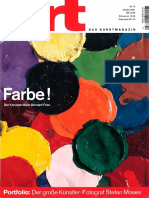 Bernard Frize ART magazine