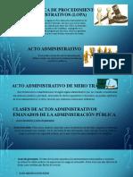 trabajo ley Orgánica de Procedimientos administrativos (1)